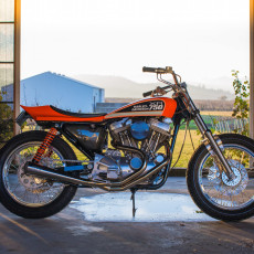 Harley XR750-Style Street Tracker