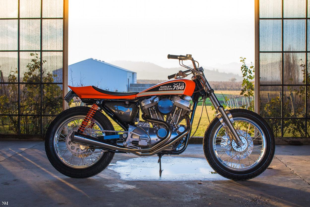 Harley XR750 Style Street Tracker