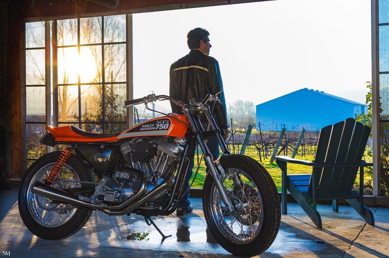 Harley Davidson: Harley XR750-Style Street Tracker