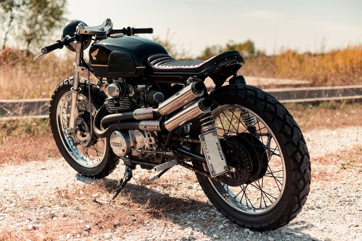 Honda Cl Cafe Racer