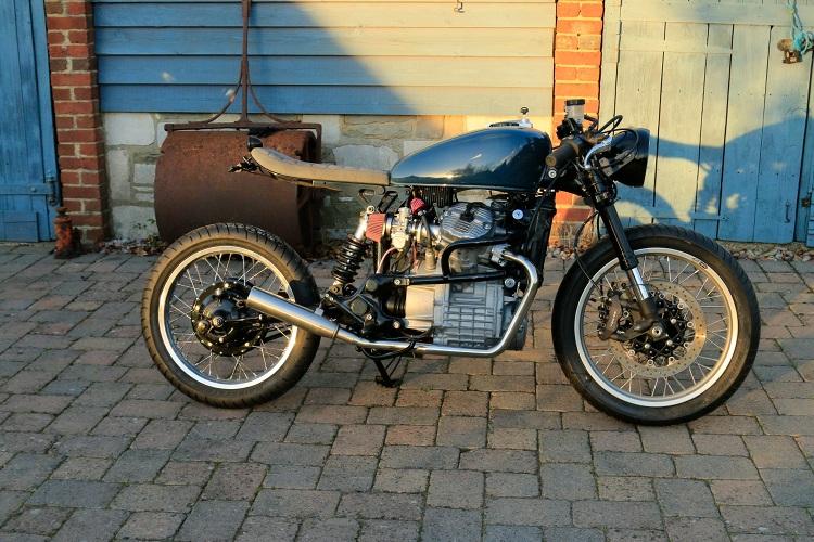 honda cx500 cafe racerrolling retro – bikebound