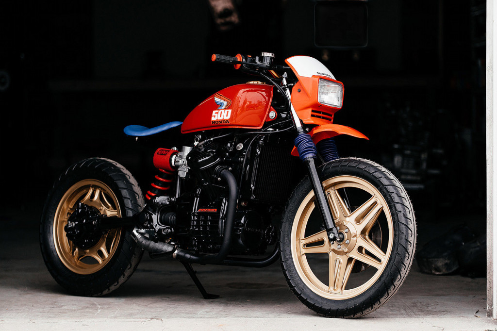 Honda CX500 Tracker