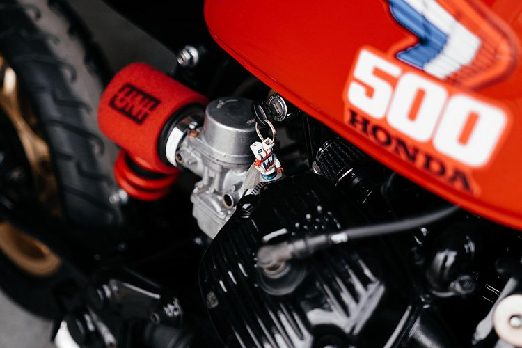 Honda CX500 Tracker