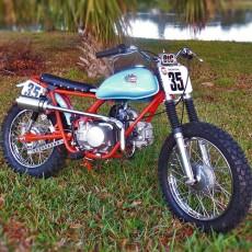 Honda SL70 Tracker by OtC Custom Motorcycles