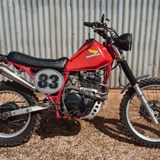 Honda XL600R Scrambler by Penroyd Garage