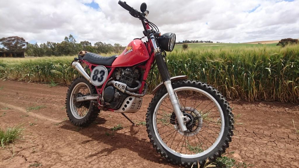 Honda XL600 Scrambler