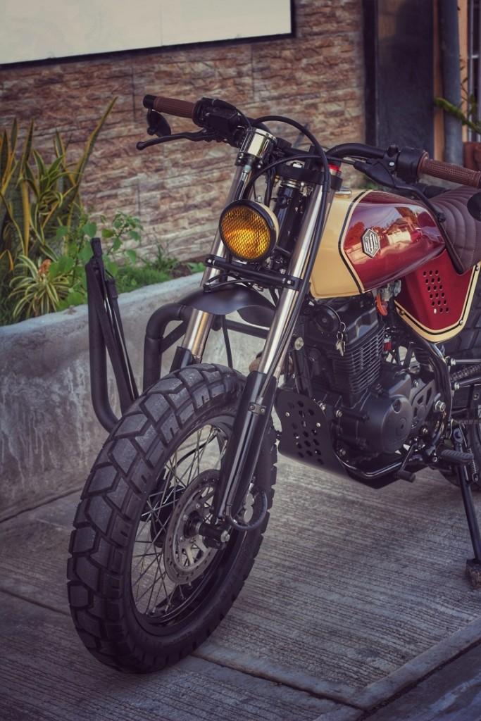 Honda XR125 Street Tracker
