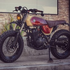 Honda XR125 Tracker by Jerry Formoso Kustoms