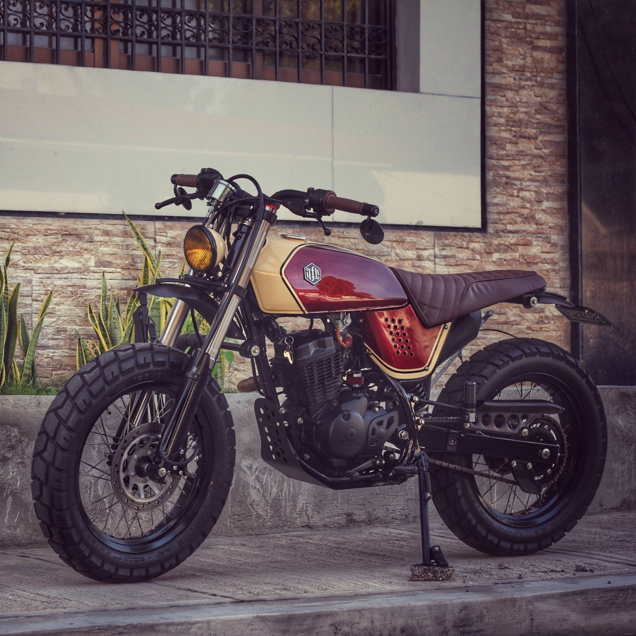 Honda Xr125 Tracker By Jerry Formoso Kustoms Bikebound