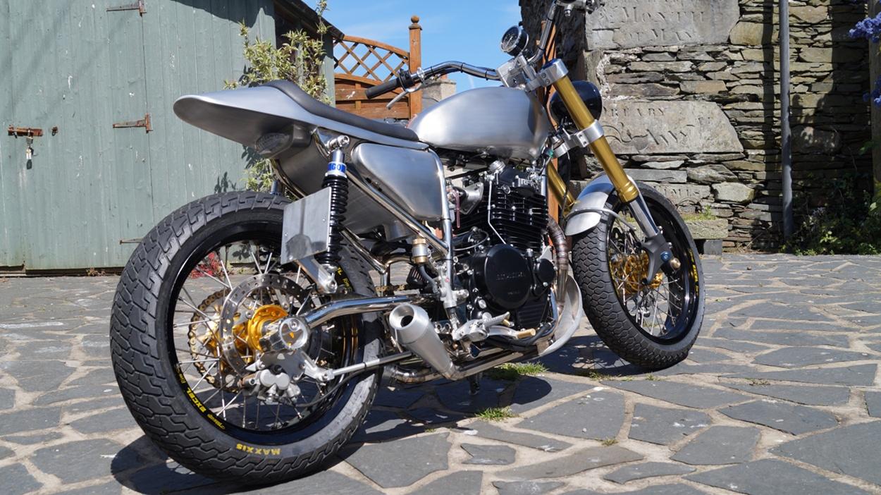 Honda XR600 Street Tracker by John Kirkham – BikeBound