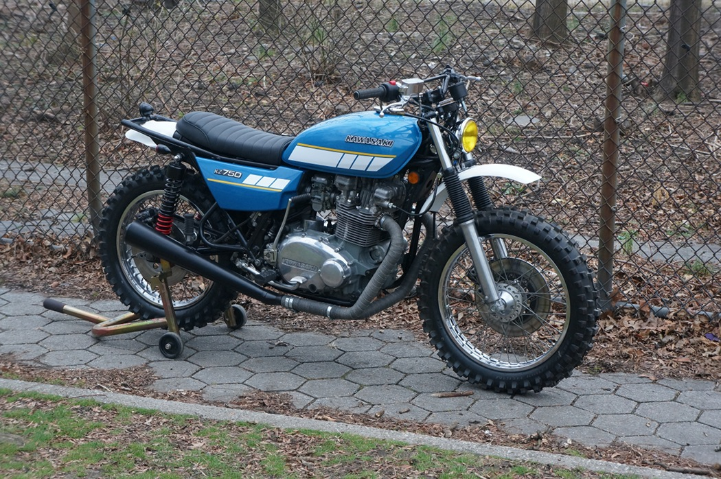 Kawasaki KZ750 Scrambler BikeBound