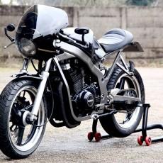 Suzuki GS500 Cafe Racer by Motolifestyle