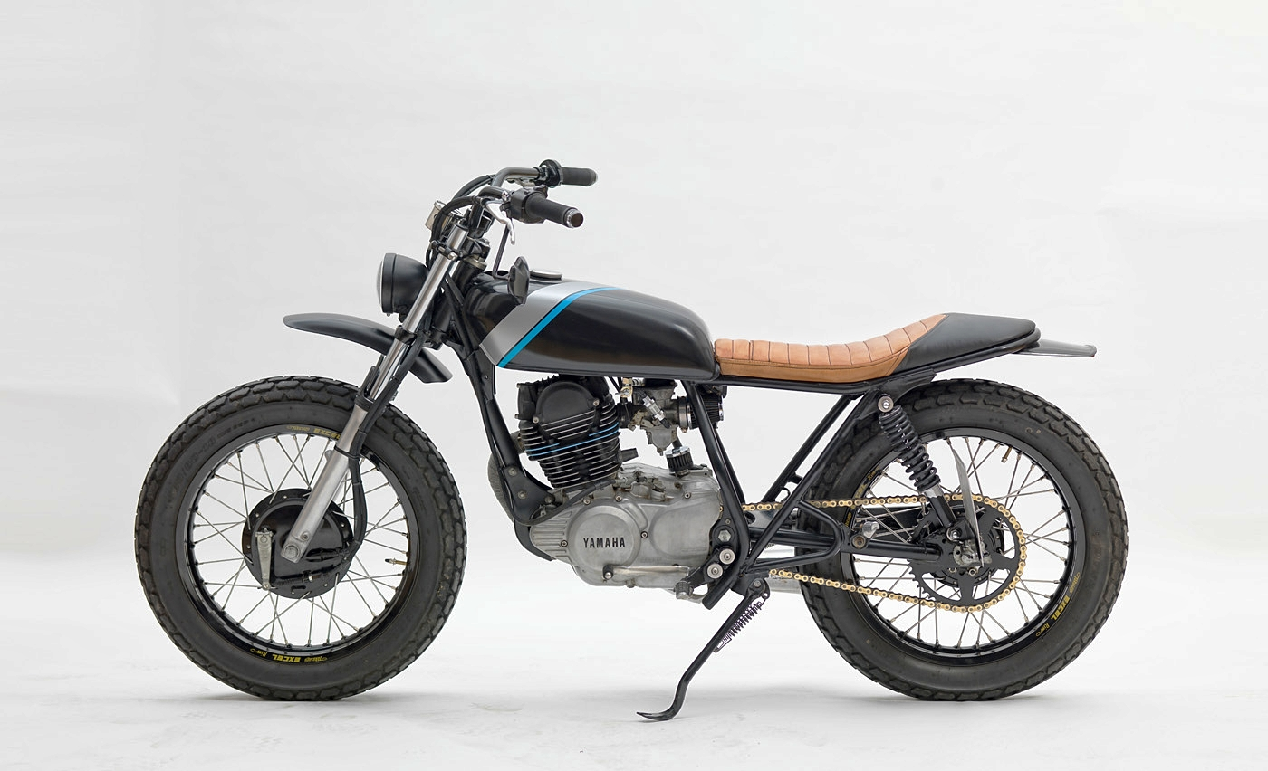 5 next-level yamaha sr250 customs – bikebound