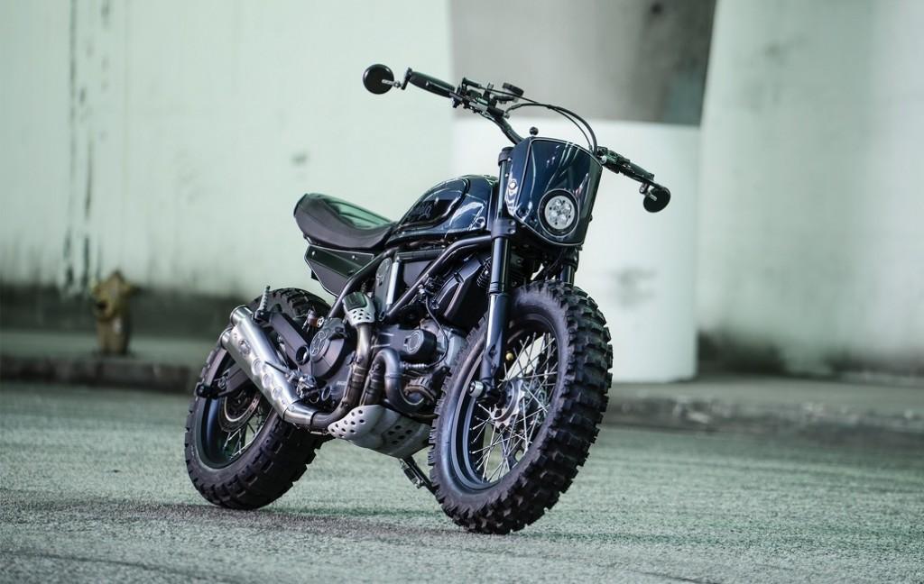 Custom Ducati Scrambler