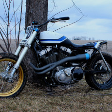 """Super Sportster"" Tracker by Rule Hard Cycles"