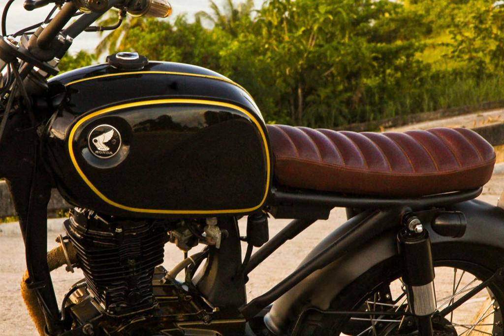 Honda CG125 Brat Tracker