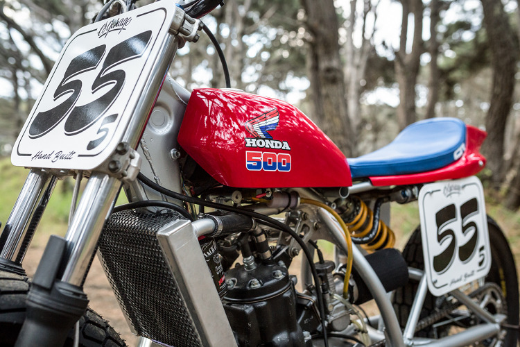 Honda CR500 Flat Tracker