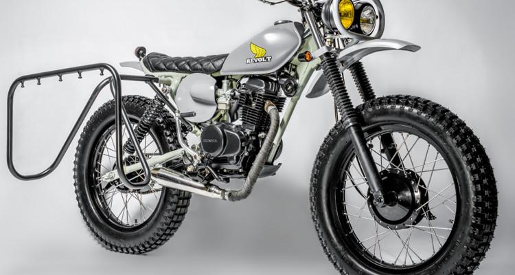 Honda XL100 Scrambler by Revolt Cycles