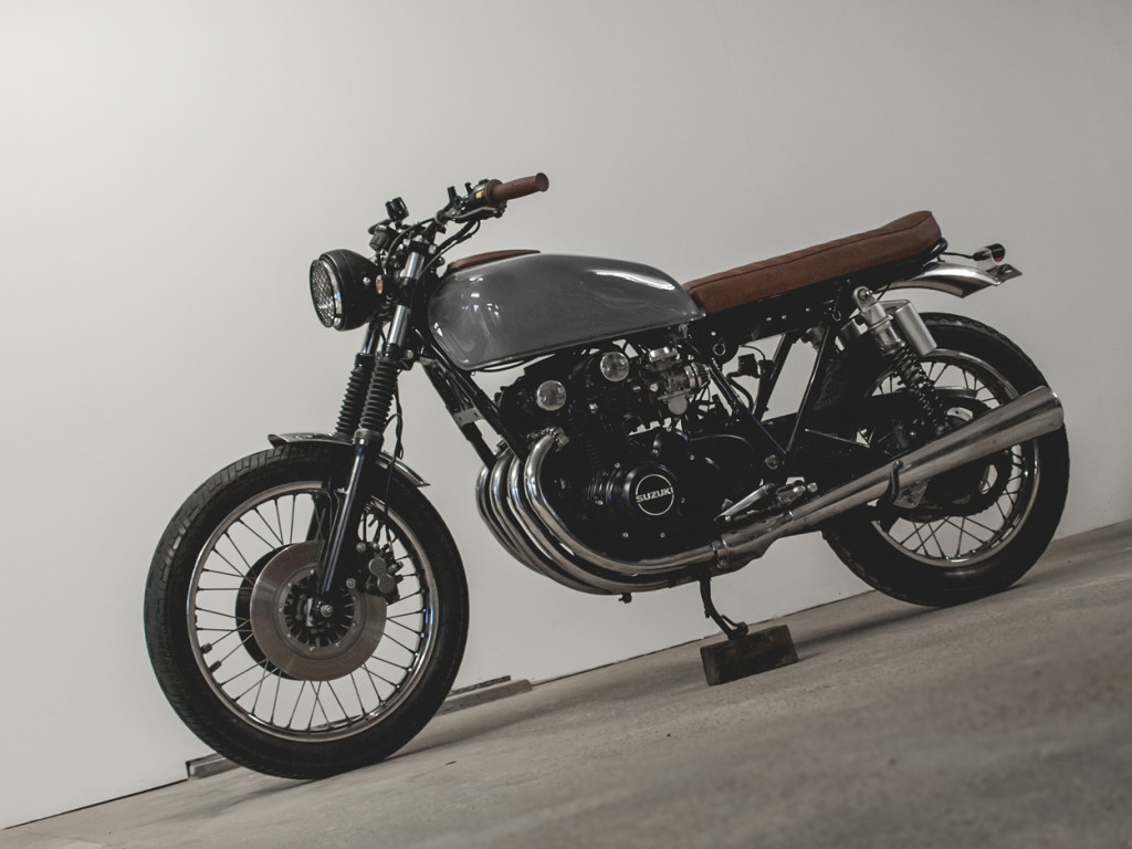 Suzuki GS550 tstyle by Kaspeed Moto – BikeBound