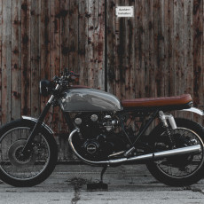Suzuki GS550 Bratstyle by Kaspeed Moto