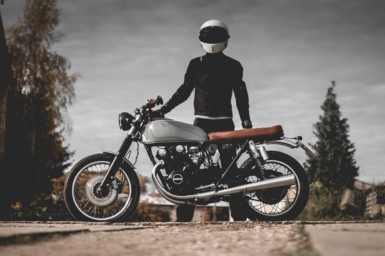 Suzuki Gs550 Bratstylekaspeed Moto U2013 Bikebound