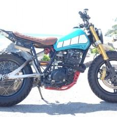 Yamaha XT550 Scrambler by Gibson Motorcycle Co.