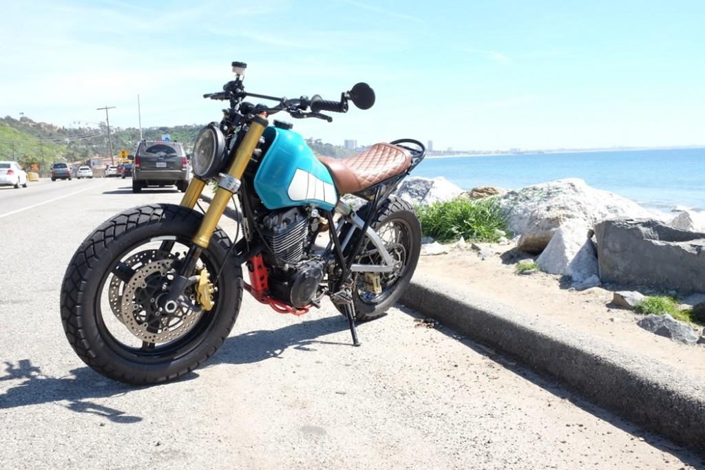 Yamaha XT550 Scrambler