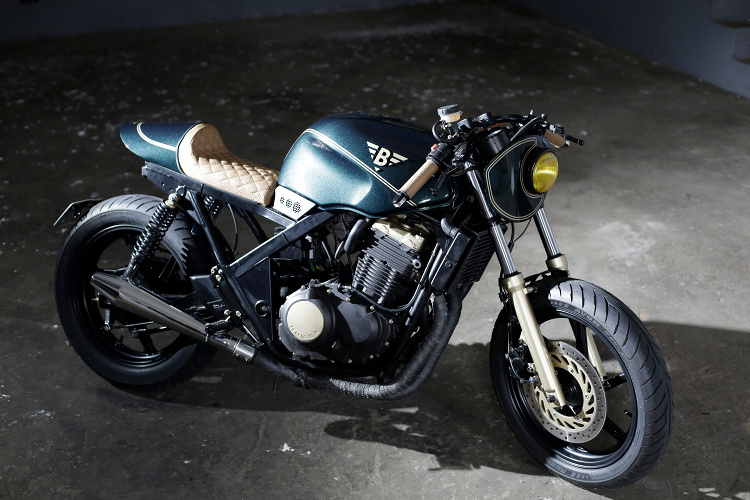Turbo Honda CB500 Cafe Racer by Bold Motorcycles – BikeBound FI07
