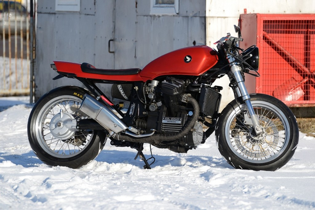 Honda GL650 Silver wing Cafe Racer