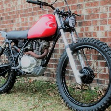 Honda XL185 Tracker by LongShotMoto