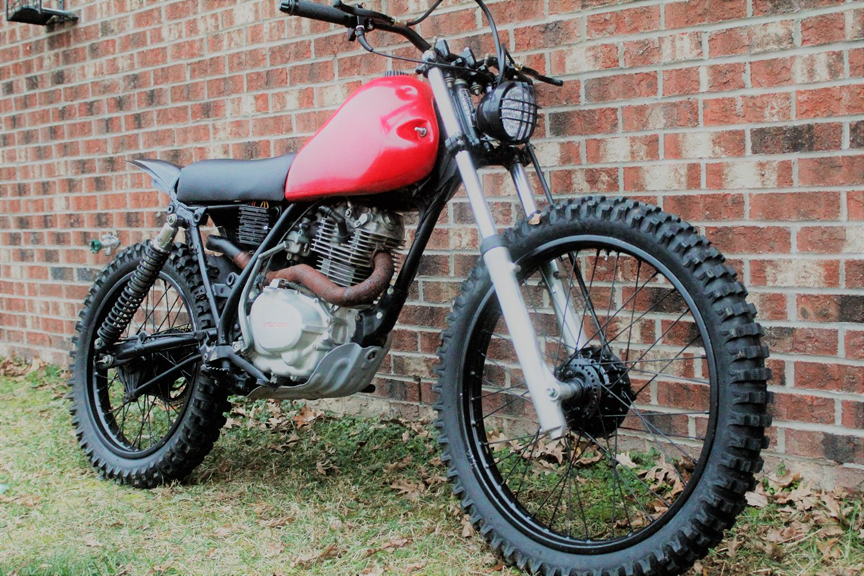 Dual Sport Motorcycles >> Honda XL185 Tracker by LongShotMoto – BikeBound