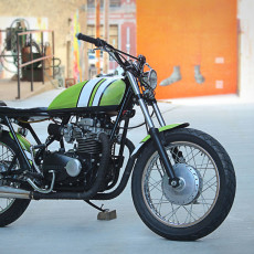 Kawasaki KZ400 Street Tracker by One15 Design