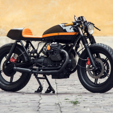 Moto Guzzi V65 Cafe Racer by Ventus Garage
