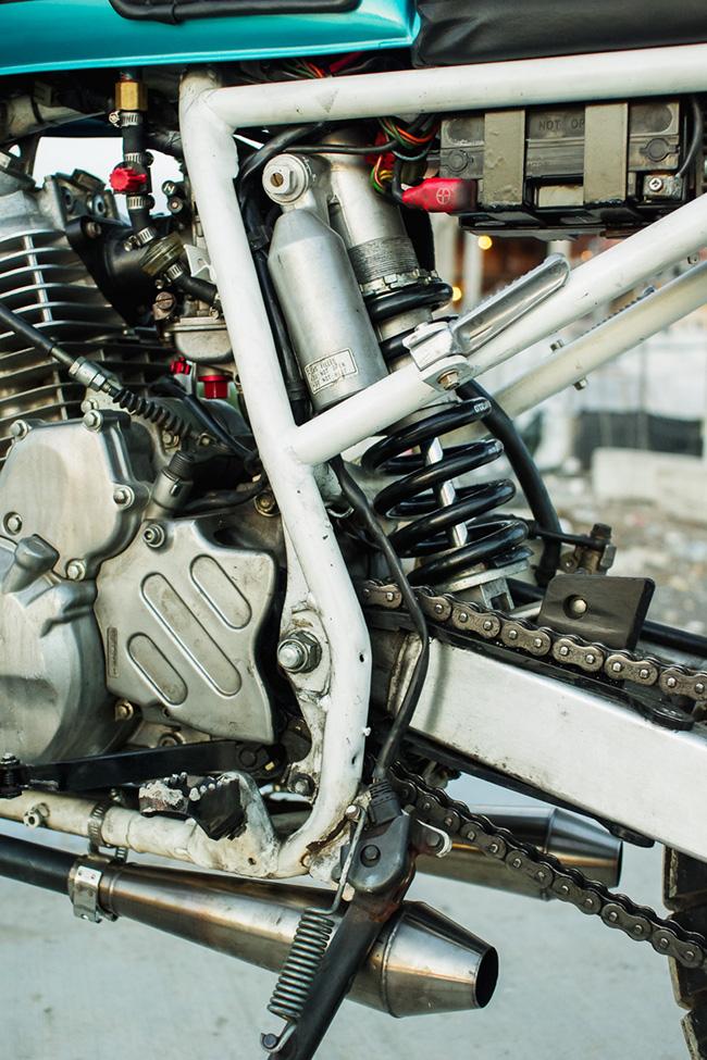 Honda XR650 Street Tracker