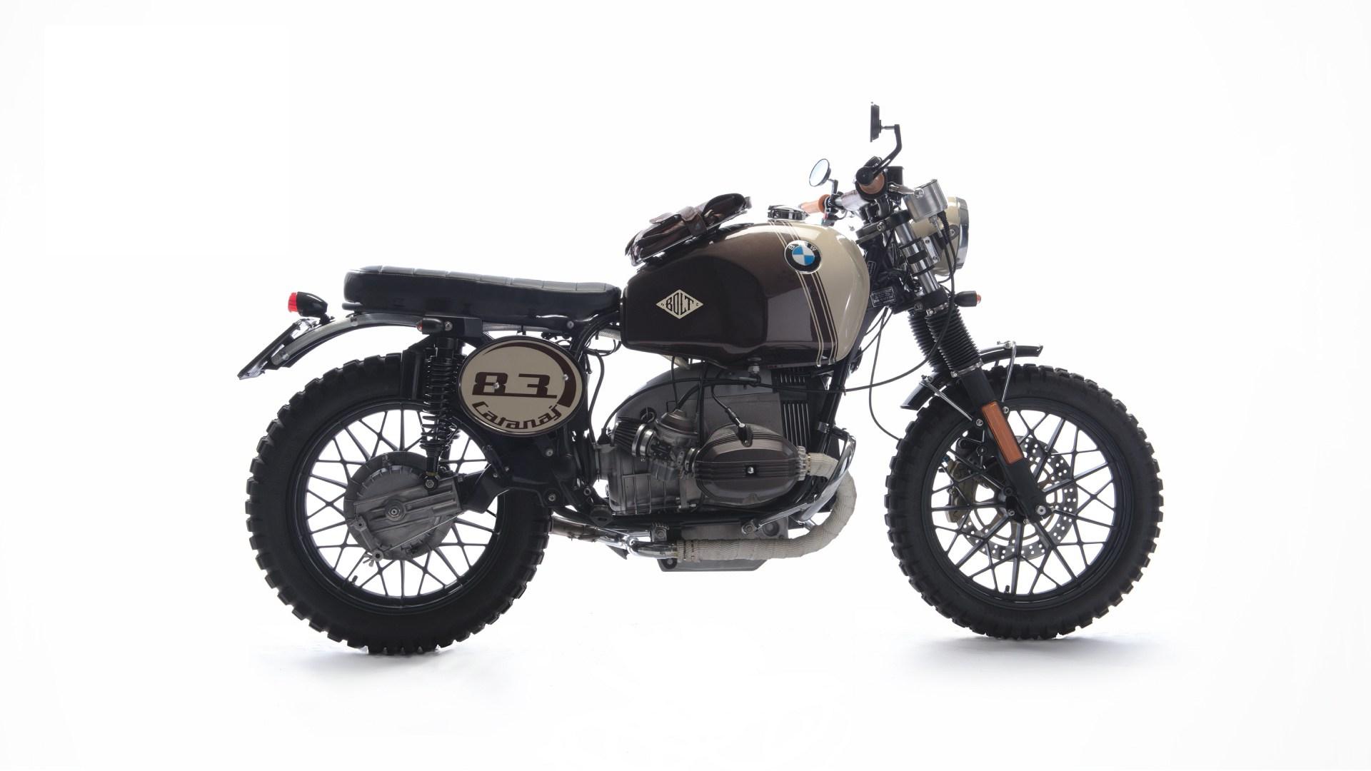 Bmw R45 Scrambler By Bolt Motor Co Bikebound