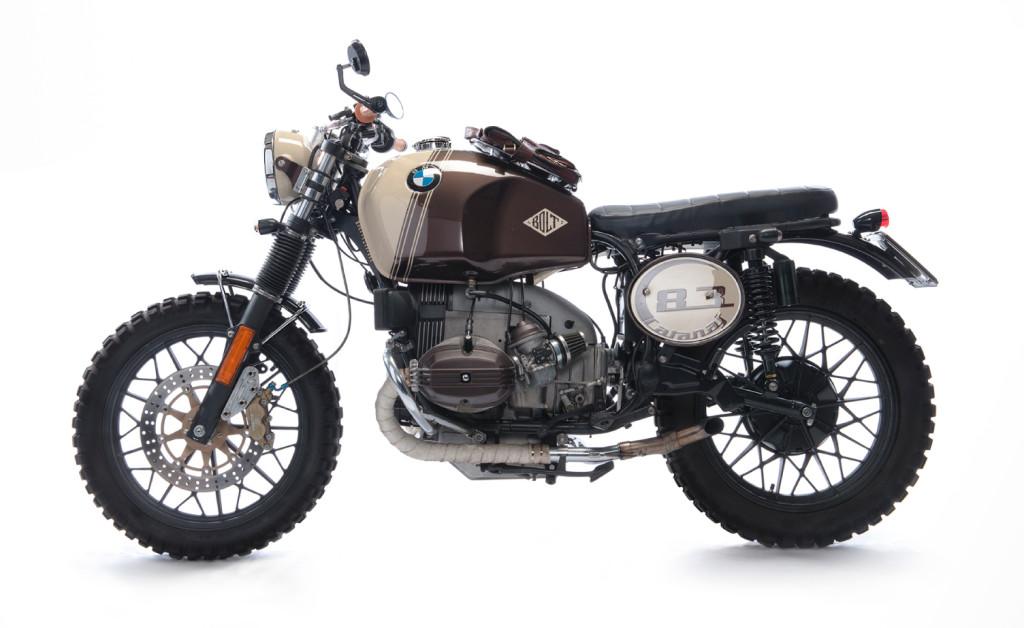 bmw r45 scrambler by bolt motor co bikebound. Black Bedroom Furniture Sets. Home Design Ideas