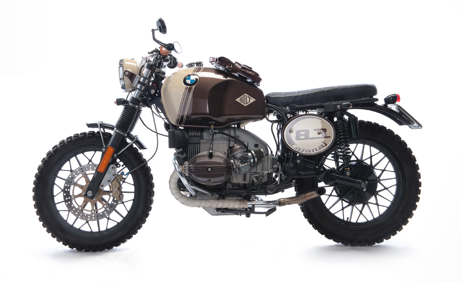 Bmw R45 Scrambler By Bolt Motor Co Bikebound