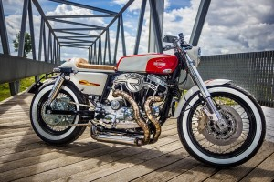 Harley Ironhead Cafe Racer