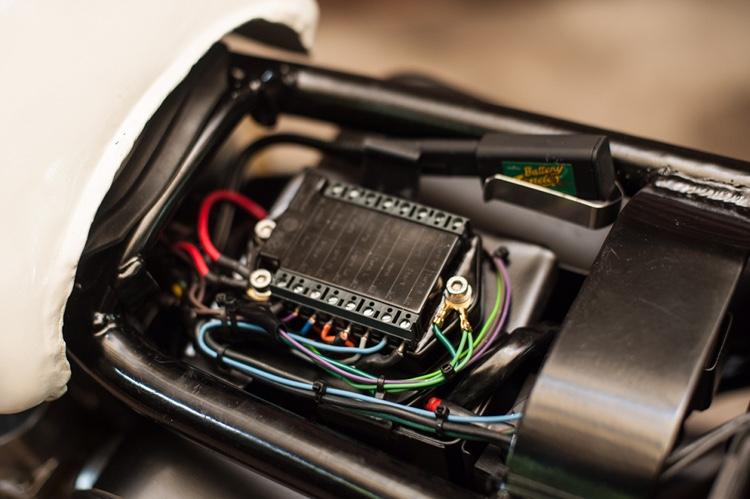 Honda CB500 Brat Tracker