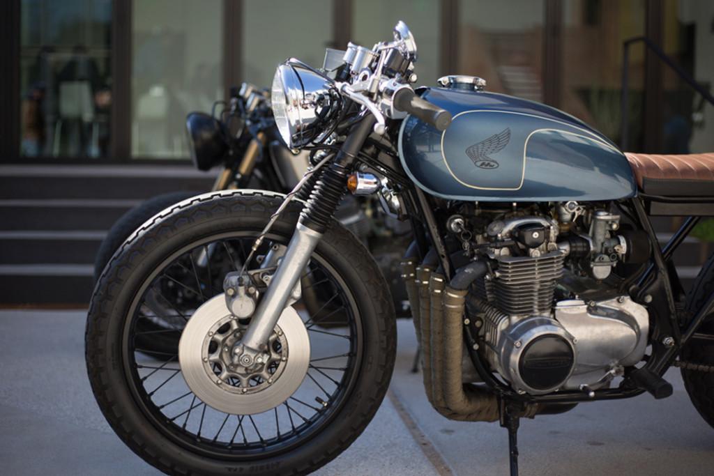 Honda CB550 Brat Cafe