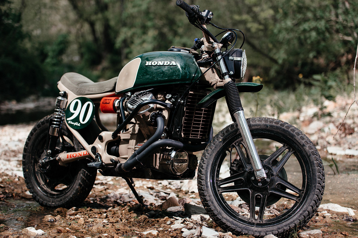 Were Thrilled To Present Another Build From Bj English Of Brick House Builds Bjs Previous A CX500 Tracker Inspired By The Two Stroke Honda