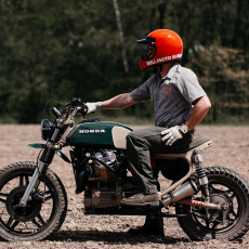 Honda CX500 Scrambler by Brick House Builds