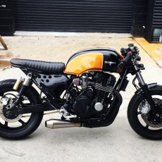Honda Nighthawk Brat Cafe by Purpose Built Moto
