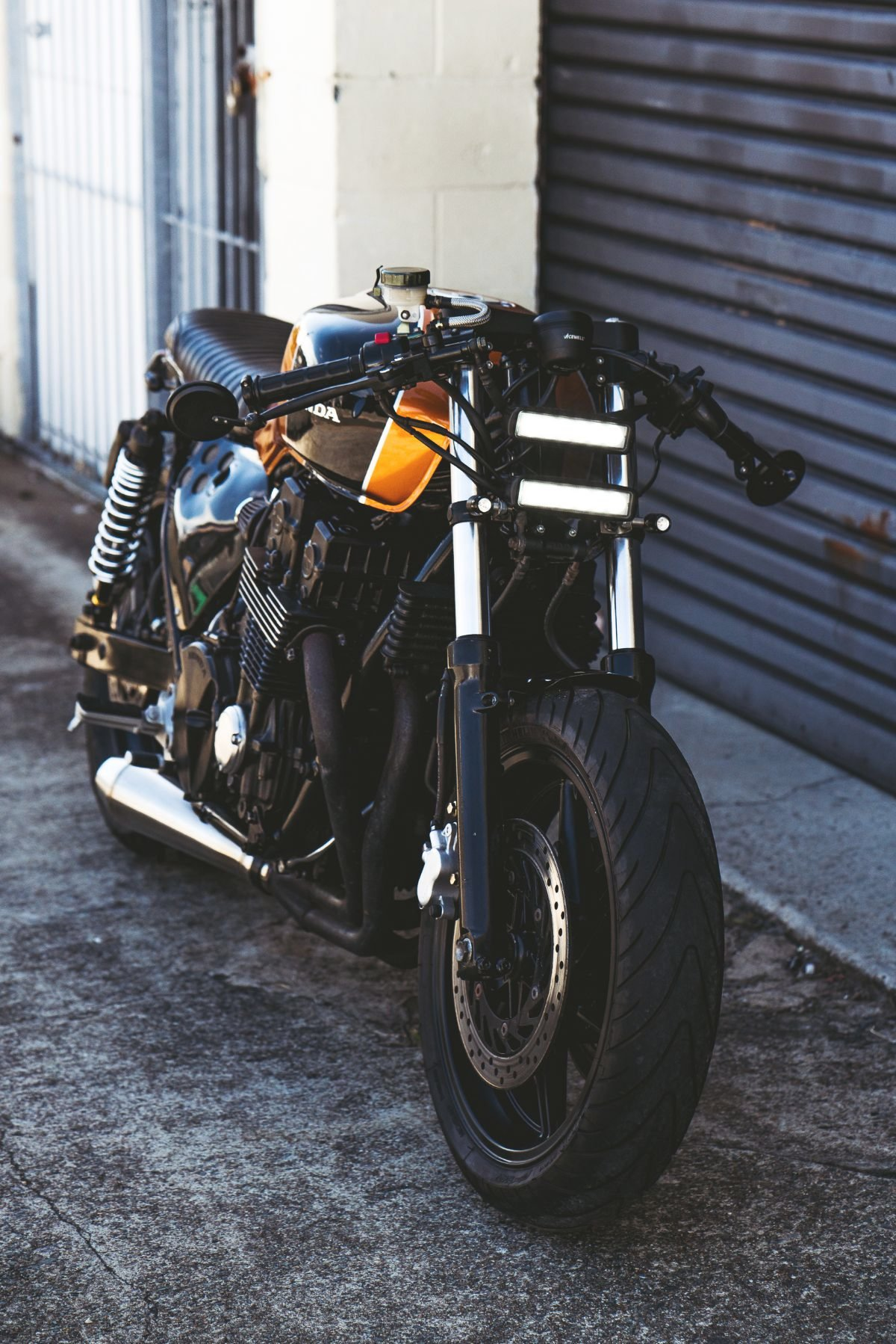 Honda Nighthawk Brat Cafe By Purpose Built Moto Bikebound
