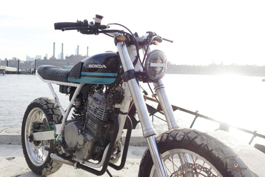 Honda XR650L Tracker