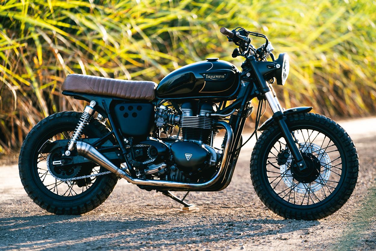 Triumph T100 Scrambler By Purpose Built Moto Bikebound