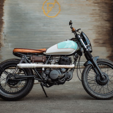 Yamaha SR250 Brat by Greasers Garage