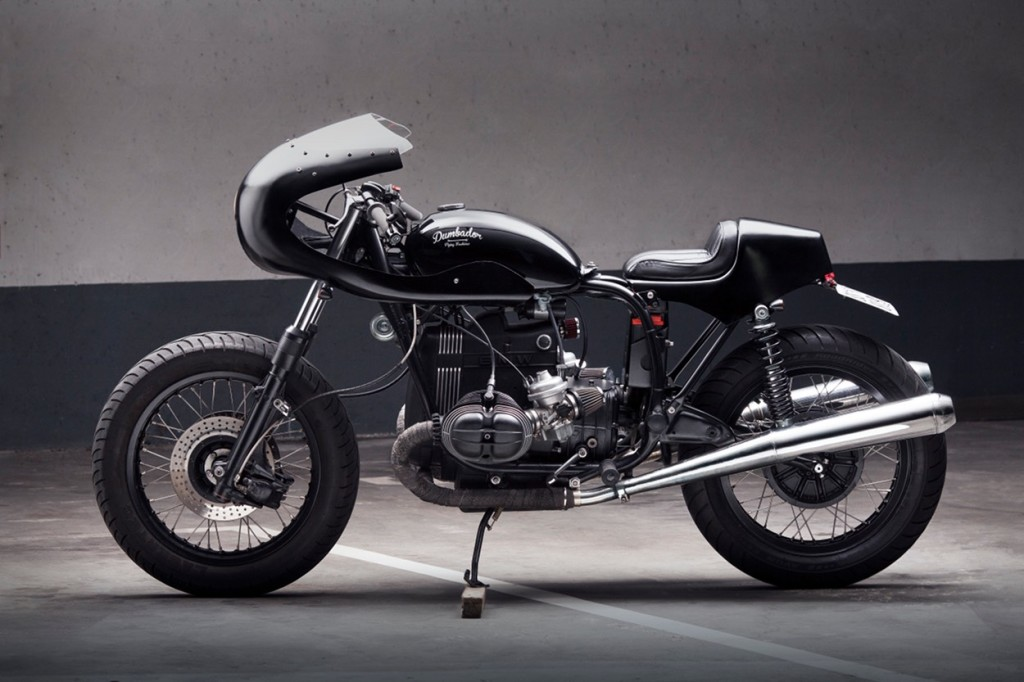 bmw r100 7 cafe racer by dumbador bikebound. Black Bedroom Furniture Sets. Home Design Ideas