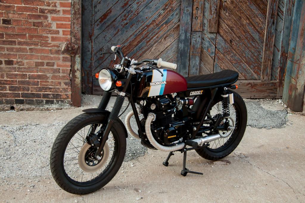 Honda CB200T Brat Cafe