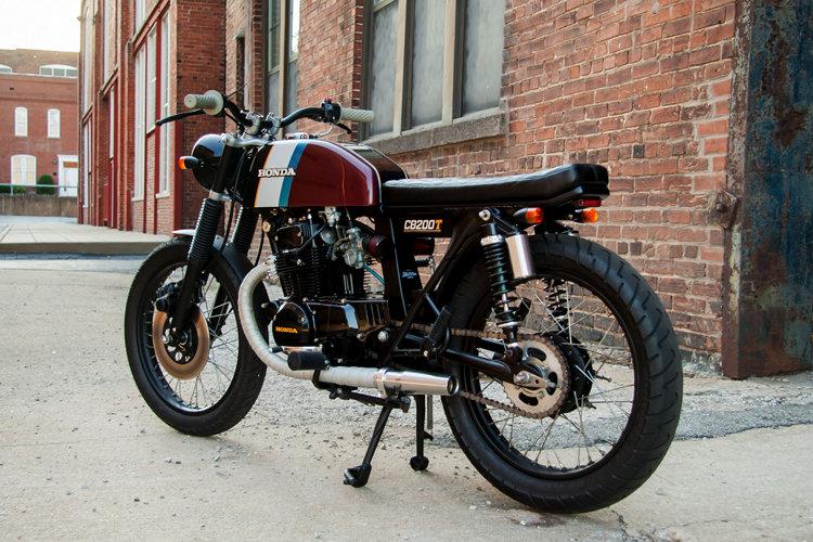 Honda CB200 Brat Cafe